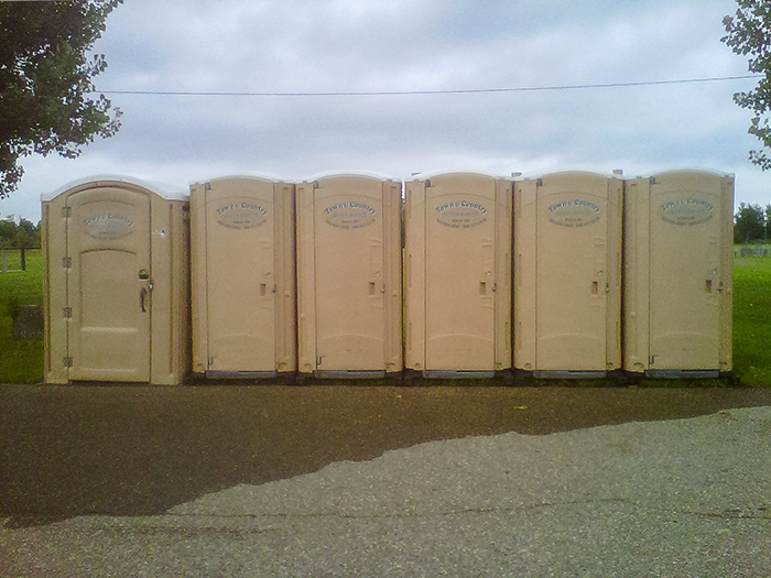 Port-a-Potties from Town & Country Sewer Services